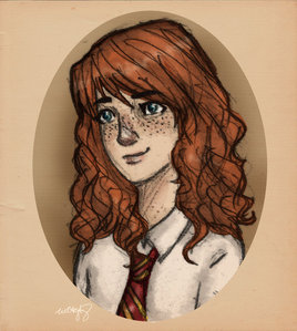 Well here's mine,it doesn't look like an आइकन thought sorry :( Rose Weasley.