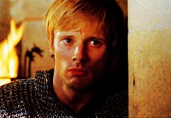 First round: Arthur Pendragon from 'Merlin' !