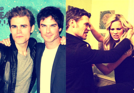日 6: [u]Favorite cast friendship[/u] [b]Paul and Ian | Joseph and Claire[/b]