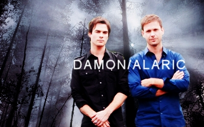日 5: 最喜爱的 friendship? Damon and Alaric!