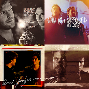 día 5: favorito! friendship? Tough one, but I'll go with Damon and Ric
