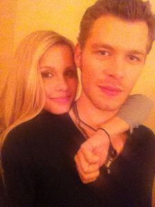 día 6: favorito! cast friendship? Joseph and Claire (They're so adorable!)