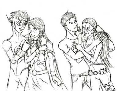 EclipseYJ, Du are going to get some fun from this! A Artemis/Connor and Megan/Wally fanfic where the
