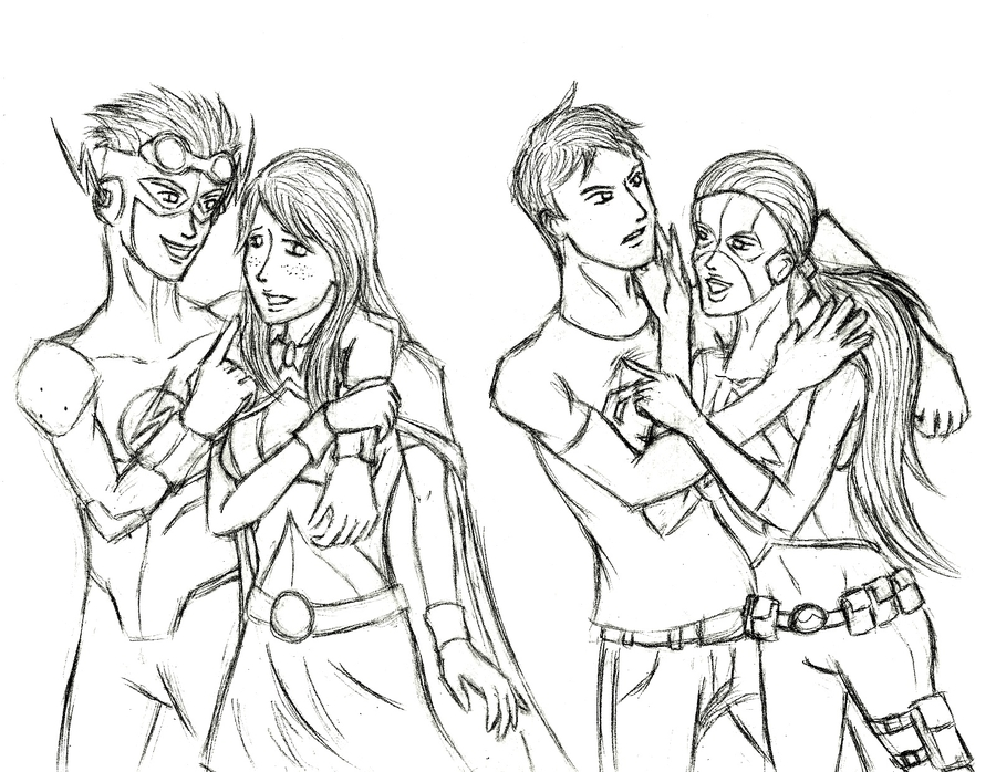 A ArtemisConnor  Young Justice Artemis And Wally