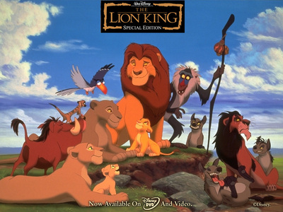 LION KING !! my fan movie ever !! <3 !