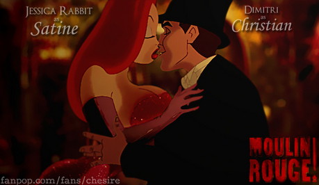 "Here's mine. From the movie, ""Moulin Rouge!"""