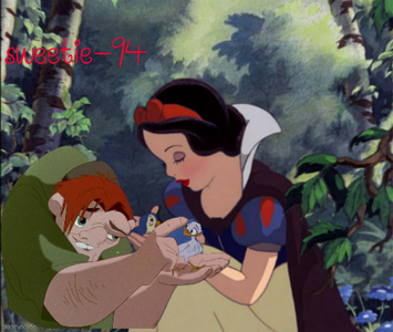 My favoriete Disney Character is Snow White and Quasimodo is my favoriete Disney male character (it did