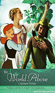 Here is mine. The book is a retelling of Jack and the Beanstalk with a Robin capuche, hotte story with in it. C