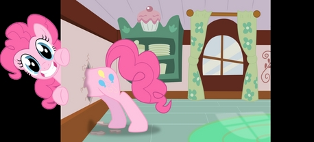Pinky Pie: Nooooo~ THIS is how you brake the fourth wall.