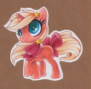 Name: Annie Species:Unicorn Age:fillie Description:
