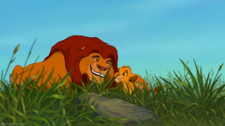 Mine! Cute Mufasa and his son.