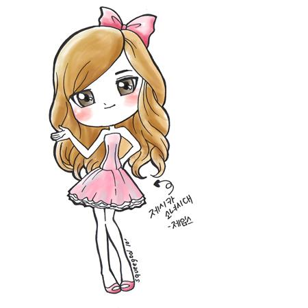 Jessica SNSD Cartoon