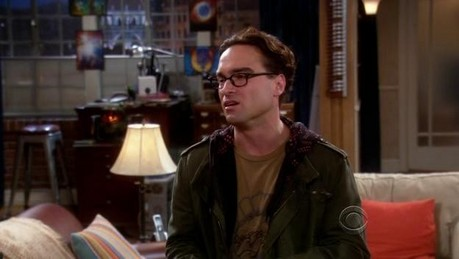 """[b]Day 11: [u]Favorite quote from a male character.[/u][/b] Leonard: """"[i]The guy's one lab accident"""