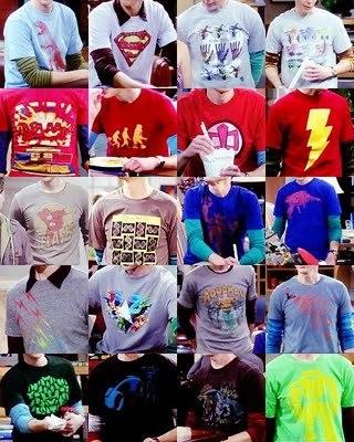 [b]Day 12: [u]Male character with the best clothes.[/u][/b] [i]Dr. Sheldon Cooper[/i] I 愛 all hi