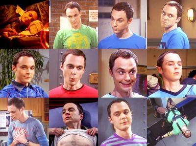 [b]Day 13: [u]Male character with the funniest facial expressions.[/u][/b] [i]Dr. Sheldon Cooper[/i]