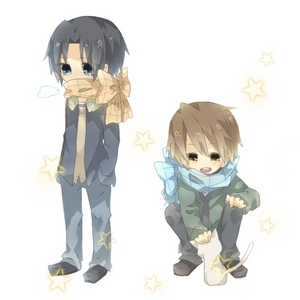 "can 你 define ""artsy"" for me please? cute ok heres one i guess (sekaiichi hatsukoi):"
