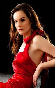 michelle dockery because i feel a connection and she is truly amaing and doesn't get enough recogniti