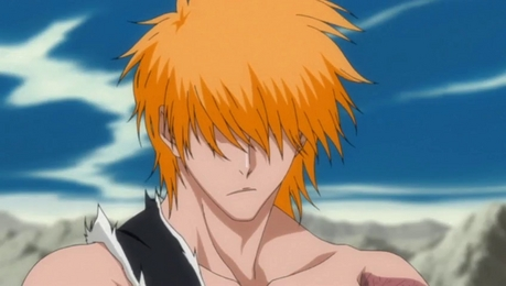 I like Ichigo with long hair, it looks cool and he was epic when he was in this form! I wish he staye