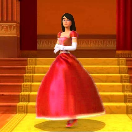 Blair in red (like Princess Blair from 12 DP)