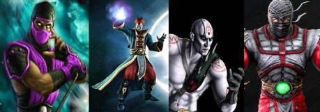 The clouds start to gather thick in the sky as Lily and Madison begin fighting... (Rain, Shinnok, Qua
