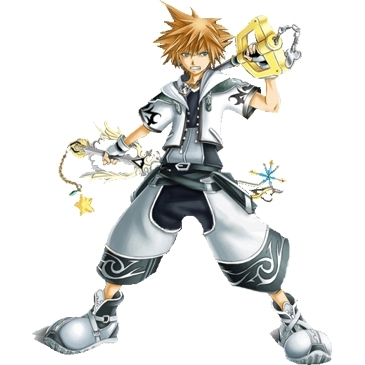 (bike rides up to a boy about 15)cloud:who are you boy:sora cloud:(eyes widen)im sorry a girl i love
