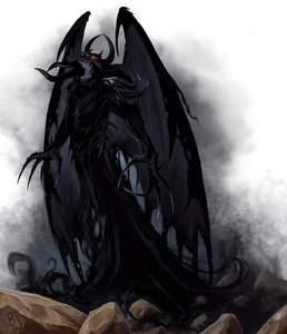 *everyone freezes in fear as i eat in my demon form ripping and shredding the body*yum it taste so go
