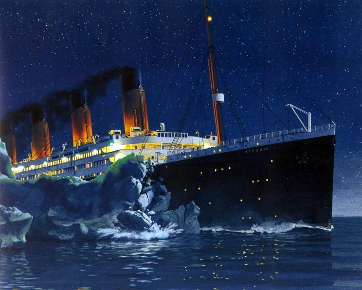 oral script about titanic