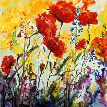 Watercolors by Ginette Callaway
