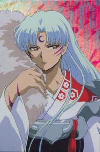 "he he he, you described Sesshomaru as ""girly"" that rather got a rise out of me, because it's his femi"