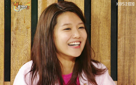 Sooyoung's pretty smile