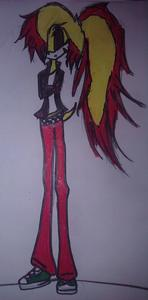 name:FLare Age:16  Race:hedgehog  Gender:female  Type:...  Powers:fire and making things come to life