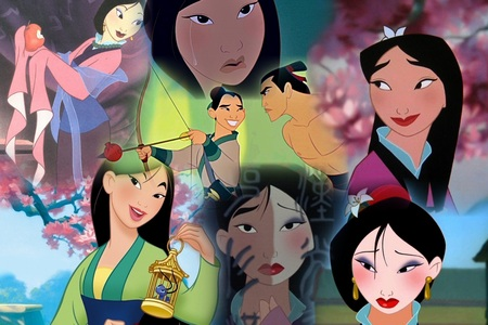 Here is mine of Mulan too!!!!<br /> Mine depicts different emotions she feels through the movie(Sad,H
