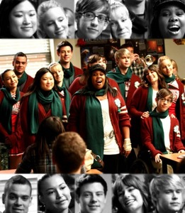 Um... I think i'll choose A Very Glee krisimasi