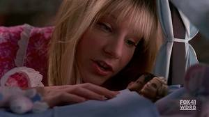 Great episode!! lol Britt saying good night to her barbies:)
