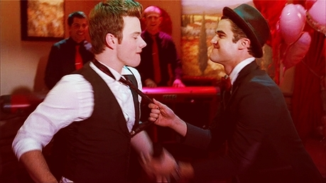 i loved the love shack Klaine duet!!!!!!!