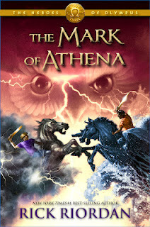 (this is the REAL mark of Athena book cover!)