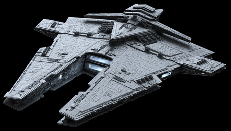 Check out my new ship! The Harrower class-dreadnaught!