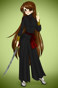 ok im just really bored oh i know wat i can do turns SR(Soul Reaper with 6 foot long sword aka zanpak