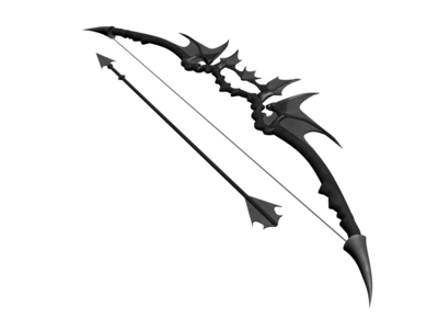 this is halia's bow and what the arrows look like