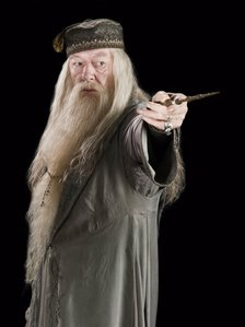 I'm the new Dumbledore except I have a long silver staff!