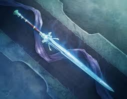 I do my advanced training with my sword.I put something on it and it connects to the sword and sharpe