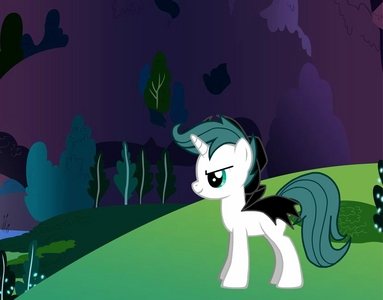 Name:Shadow Raven<br /> <br /> Personality:Evil,Selfish,Demanding<br /> <br /> Cutie Mark:its invisib