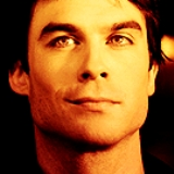 Round 1 - Damon Salvatore  1. Happy