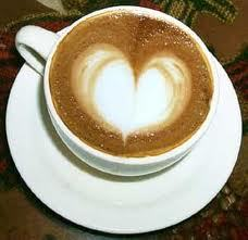 And~ last but not least some coffee with a little extra- made with love, it's all made with love. *sh