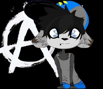Here is my oc, Auburn. :3 I did not draw this, so if you're gonna put credits, don't credit me for th