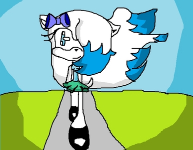 """Name:Snowy """"sweet"""" Rose Age: 16 Gender: described in pic Personality: Powers: flying,teleport,inv"""
