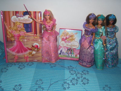I have the four transforming dolls, the storybook and the DVD... Though, I think I'll buy the little