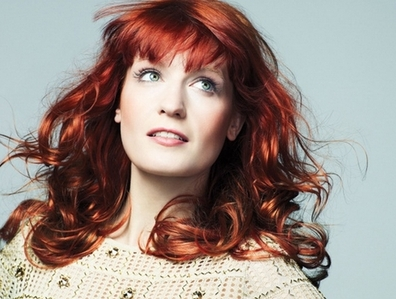 The leader singer from the band Florence and The Machine