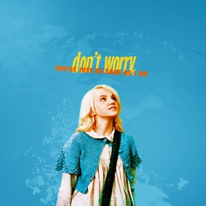 I'll be Luna Lovegood :DDD Name- Luna Lovegood Age- Uhh, one год younger than Harry (which year???)