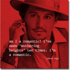 Red Picture of Johnny Depp